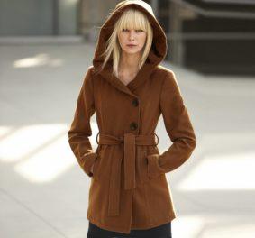 Manteau grande capuche : on s'y sent bien tout au long de l'hiver